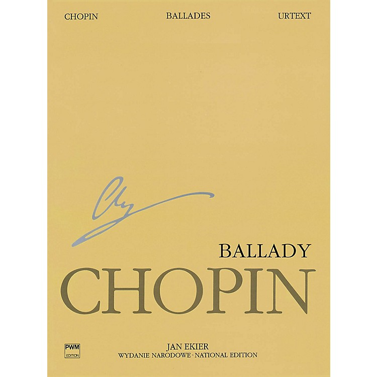PWM Ballades (Chopin National Edition Volume I) PWM Series Softcover