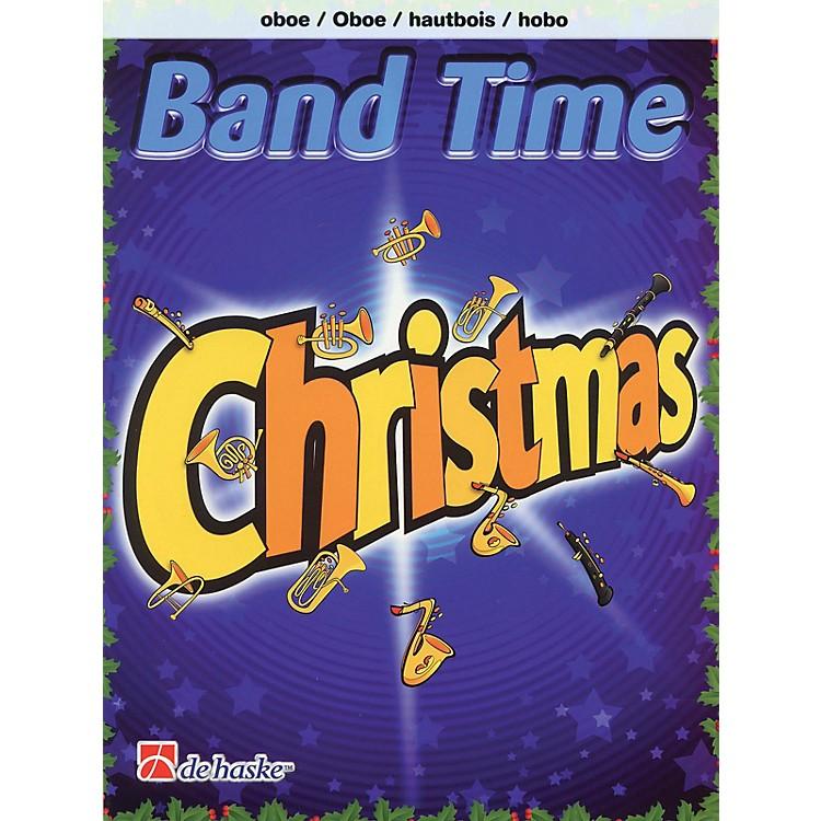 De Haske MusicBand Time Christmas (Oboe) De Haske Play-Along Book Series Book Arranged by Robert van Beringen
