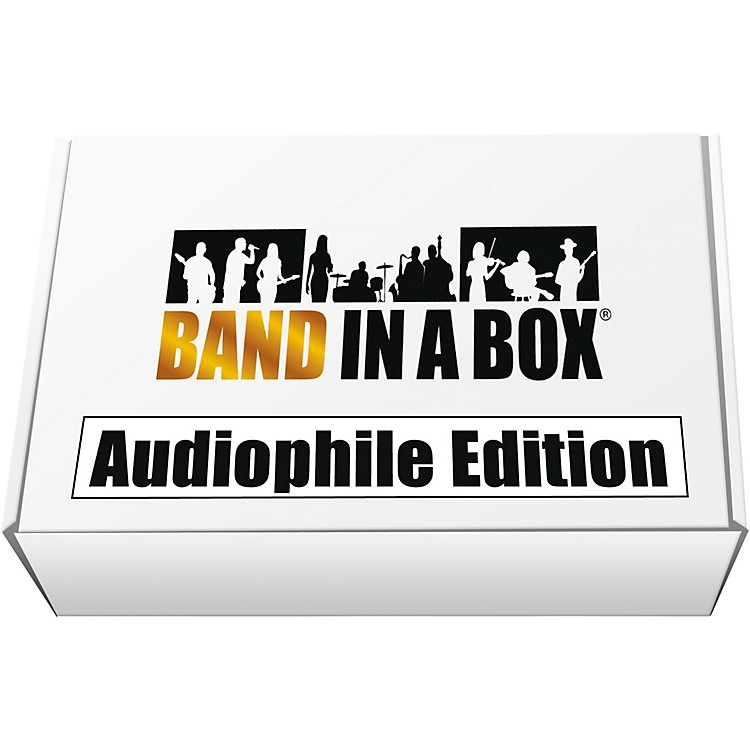 PG MusicBand-in-a-Box 2019 Audiophile Edition [Win USB Hard Drive]