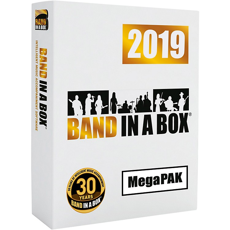 PG Music Band-in-a-Box 2019 MegaPAK [Win USB Flash Drive]