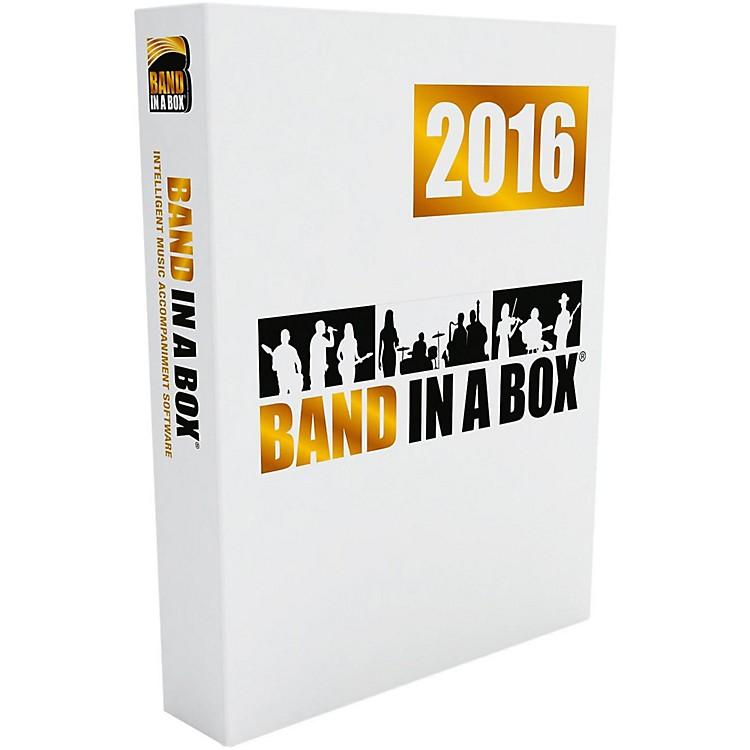 PG MusicBand-in-a-Box MegaPAK 2016 (Windows DVD-ROM)