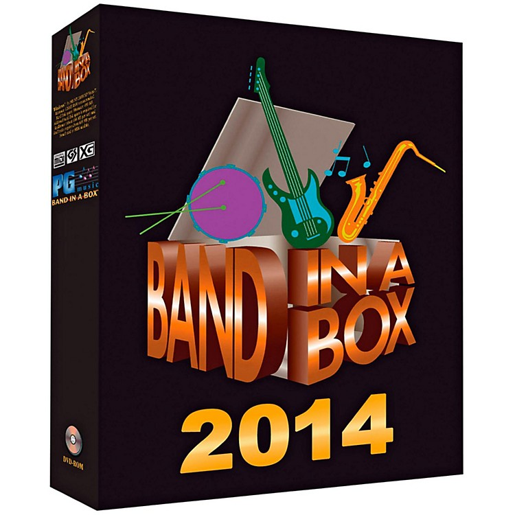 PG MusicBand-in-a-Box Pro 2014 (Windows DVD-ROM)