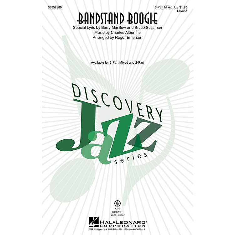 Hal LeonardBandstand Boogie (Discovery Level 3) VoiceTrax CD Arranged by Roger Emerson
