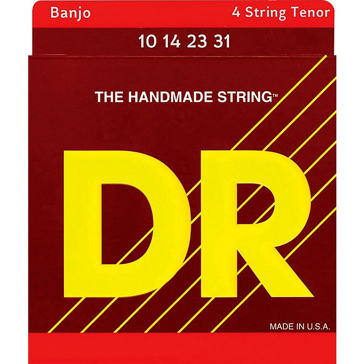 DR StringsBanjo Strings (Tenor) 10, 12, 15, 23