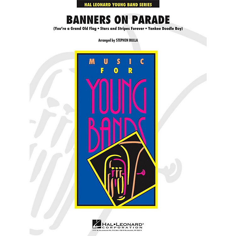 Hal LeonardBanners On Parade - Young Concert Band Level 3