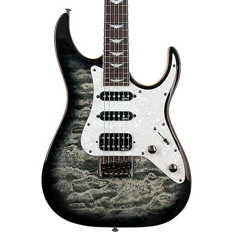 Schecter Guitar ResearchBanshee-6 Extreme Solid Body Electric GuitarCharcoal Burst