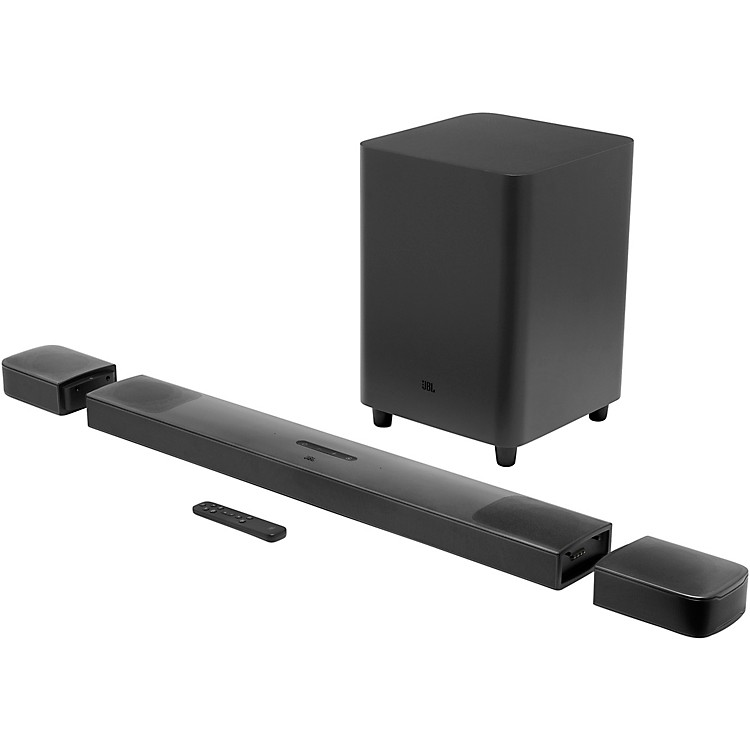 JBL Bar 9.1 3D Surround Soundbar with Wireless Subwoofer Black