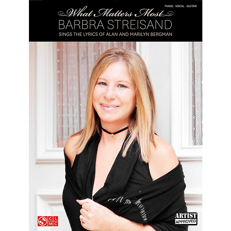 Cherry LaneBarbra Streisand - What Matters Most for Piano/Vocal/Guitar PVG
