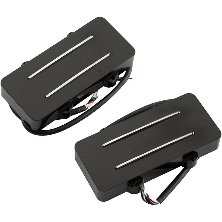 JBE Pickups (Barden) JM Two/Tone Guitar Bridge and Neck Pickup Set for Jazzmaster Black