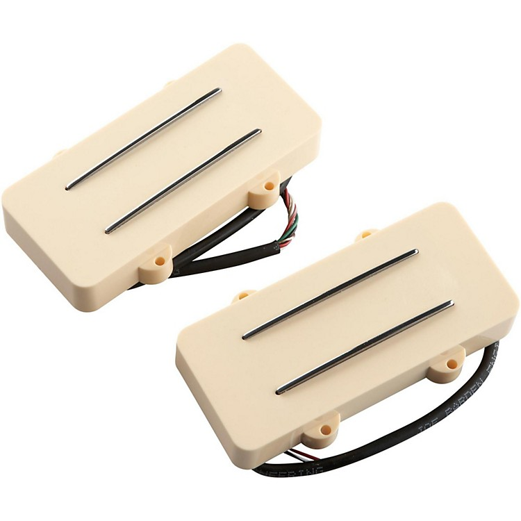 JBE Pickups (Barden) JM Two/Tone Guitar Bridge and Neck Pickup Set for Jazzmaster Cream
