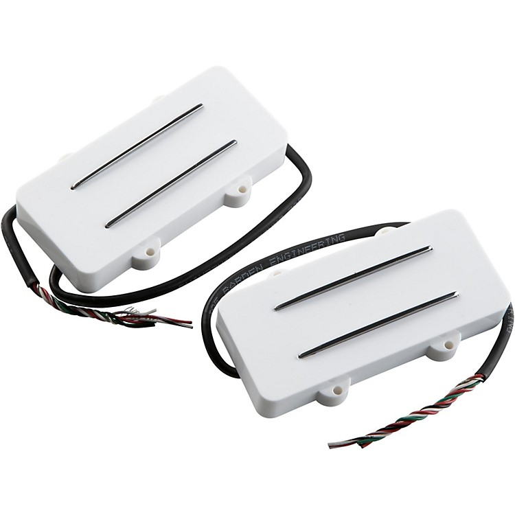 JBE Pickups (Barden) JM Two/Tone Guitar Bridge and Neck Pickup Set for Jazzmaster White