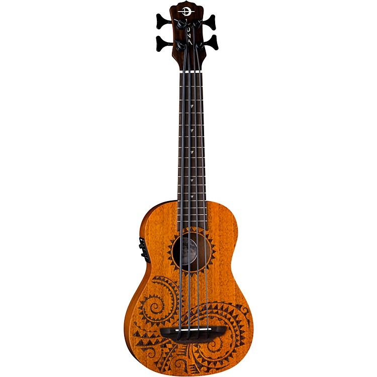 Luna GuitarsBari-Bass Tattoo Acoustic-Electric UkuleleTattoo
