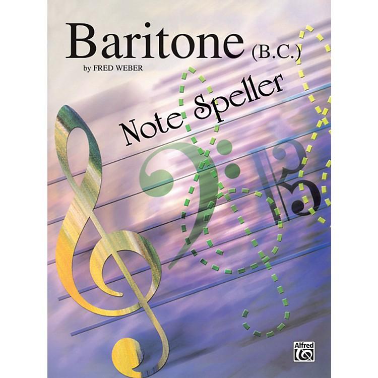 AlfredBaritone B.C. Note Speller Baritone B.C.