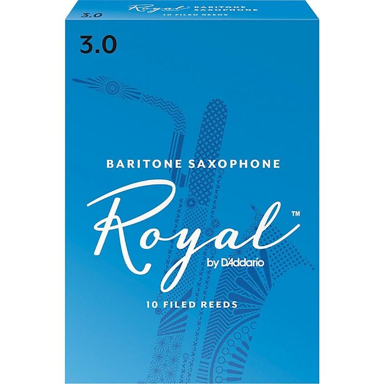 Rico RoyalBaritone Saxophone Reeds, Box of 10Strength 3