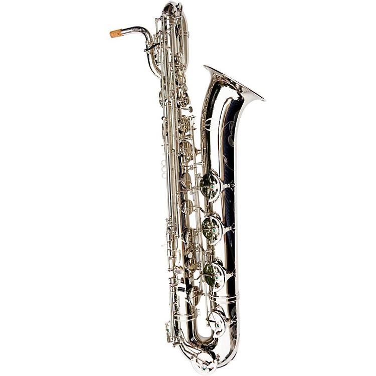 MACSAXBaritone SaxophoneSilver Nickel Plated