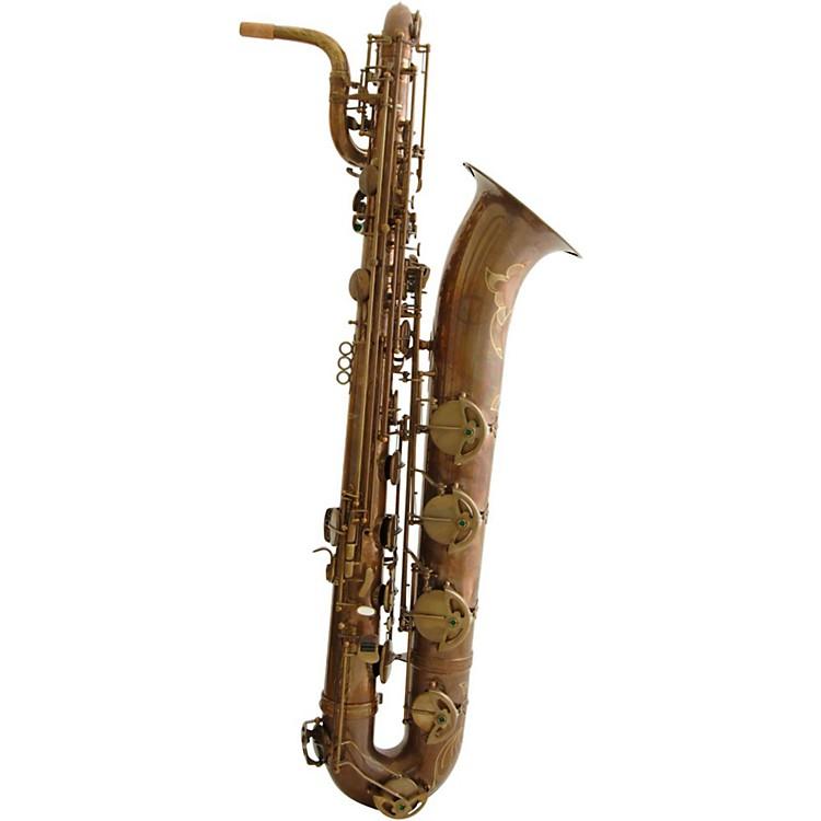 MACSAXBaritone SaxophoneVintage Bare Brass