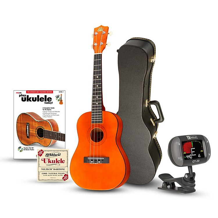 Rogue Baritone Ukulele Bundle Natural