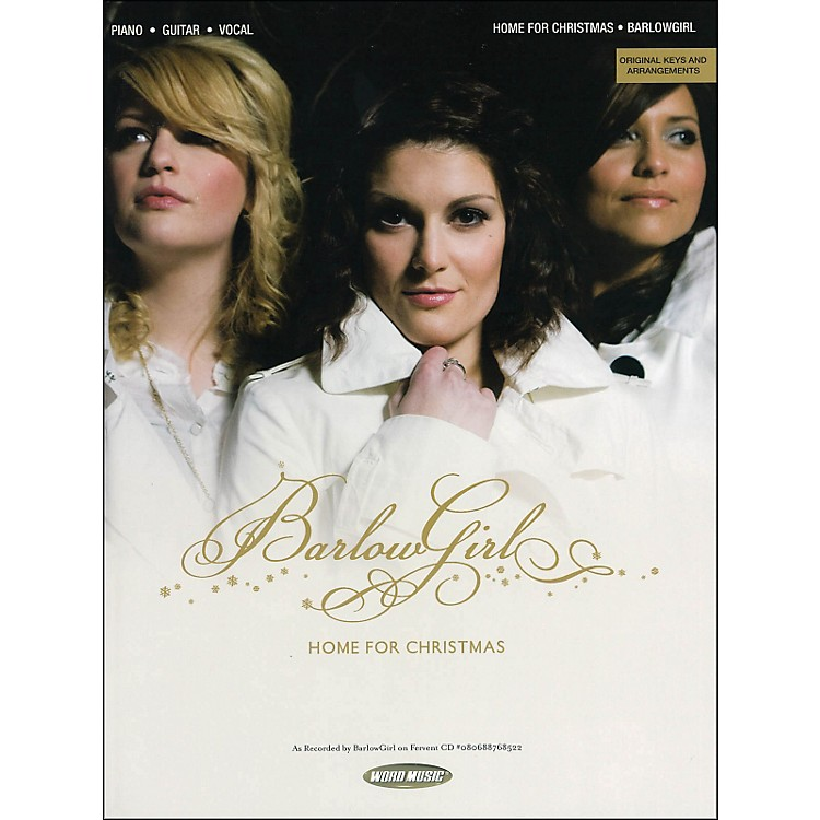 Word MusicBarlowGirl - Christmas arranged for piano, vocal, and guitar (P/V/G)