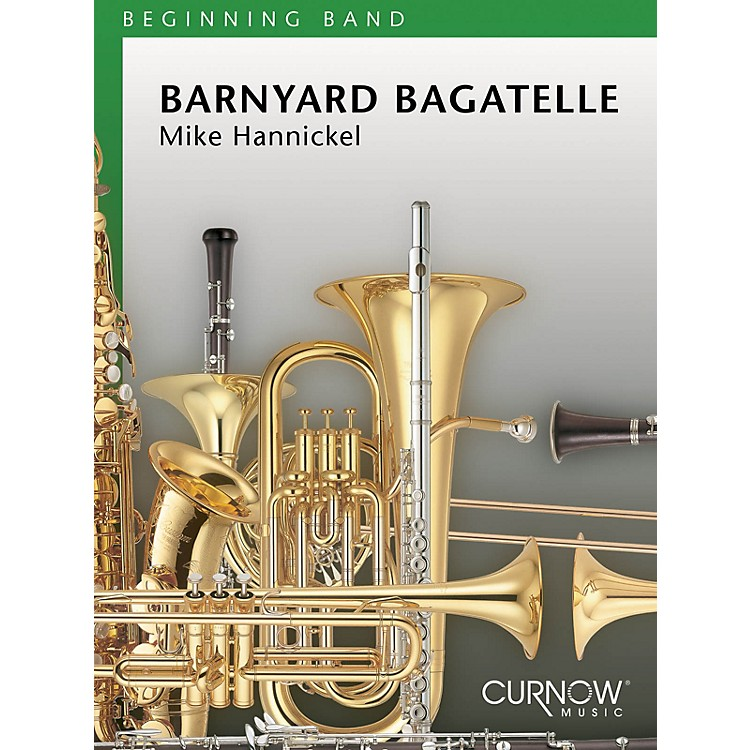 Curnow MusicBarnyard Bagatelle (Grade 1 - Score Only) Concert Band Level 1 Composed by Mike Hannickel