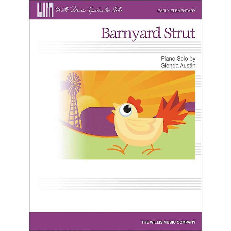 Willis MusicBarnyard Strut - Early Elementary Piano Solo by Glenda Austin