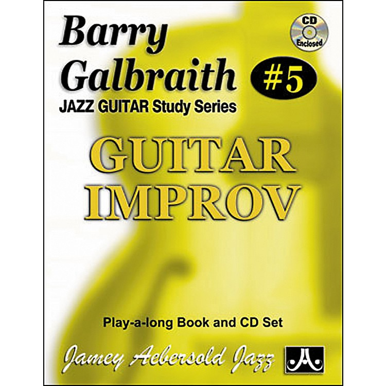 Jamey AebersoldBarry Galbraith - Guitar Improv Book and CD