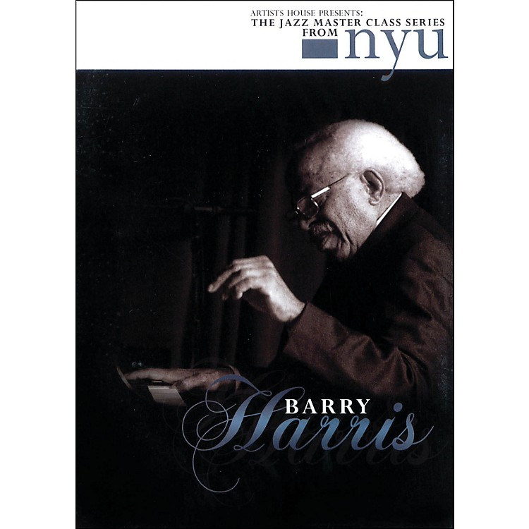 Hal Leonard Barry Harris - The Jazz Master Class Series From NYU (DVD)