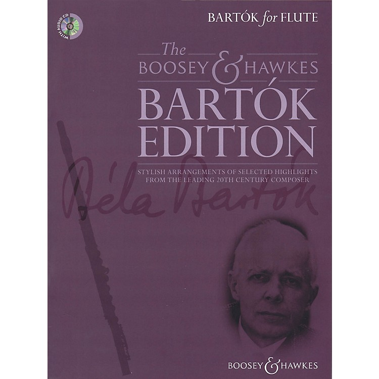 Boosey and HawkesBartok for Flute Boosey & Hawkes Chamber Music Series Softcover with CD