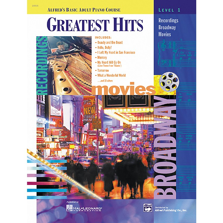 AlfredBasic Adult Piano Course: Greatest Hits Book1