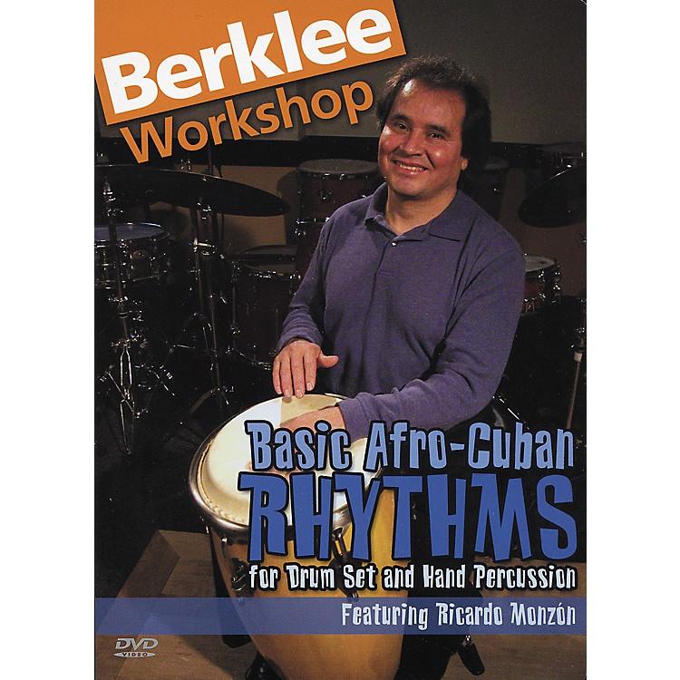 Berklee PressBasic Afro Cuban Rhythms (DVD)