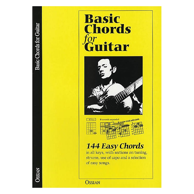 Music SalesBasic Chords for Guitar (144 Easy Chords) Music Sales America Series Softcover Written by John Loesberg