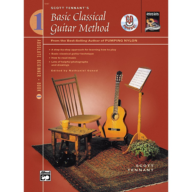 Alfred Basic Classical Guitar Method Book 1 with DVD
