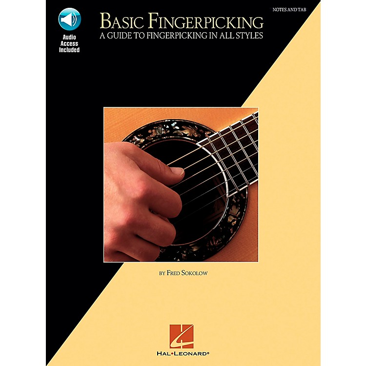 Hal LeonardBasic Fingerpicking (Book/Online Audio)