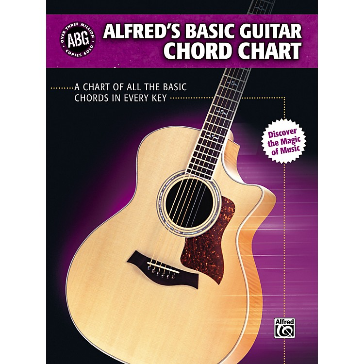AlfredBasic Guitar Chord Chart