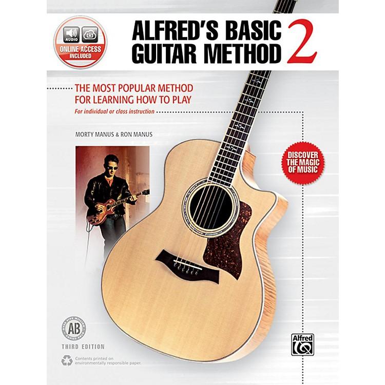 AlfredBasic Guitar Method 2 3rd Edition Book & Online Audio