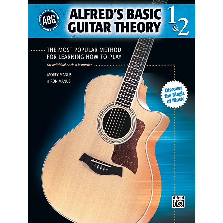 AlfredBasic Guitar Theory Volumes 1 and 2 (Book)