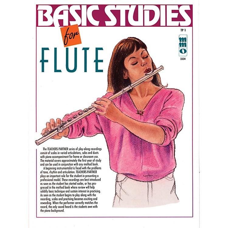 Music Minus OneBasic Studies for Flute (Teacher's Partner) Music Minus One Series Softcover with CD