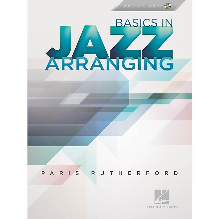 Hal LeonardBasics in Jazz Arranging Jazz Instruction Series Softcover with CD