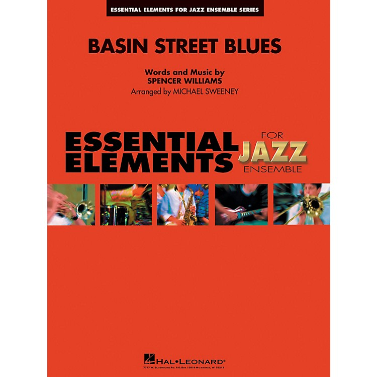 Hal Leonard Basin Street Blues Jazz Band Level 1-2 Arranged by Michael Sweeney