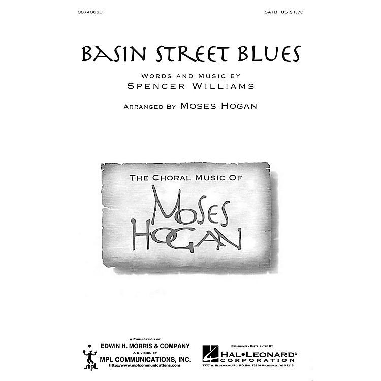 Hal LeonardBasin Street Blues SATB arranged by Moses Hogan