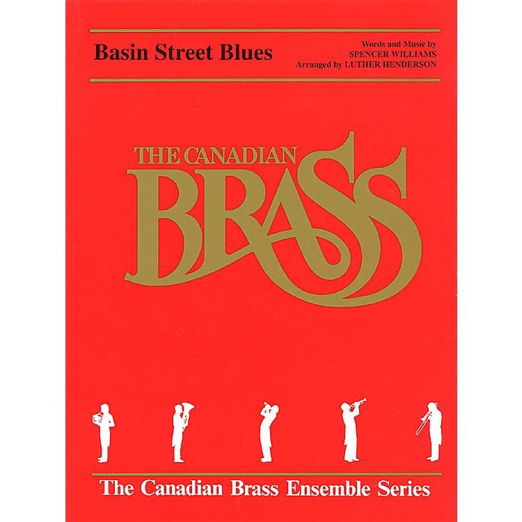 Hal LeonardBasin Street Blues (Score and Parts) Brass Ensemble Series by Spencer Williams