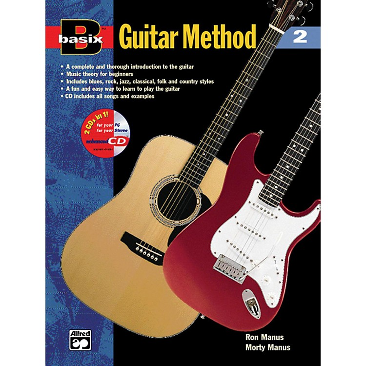 Alfred Basix Guitar Method 2 (Book/CD)