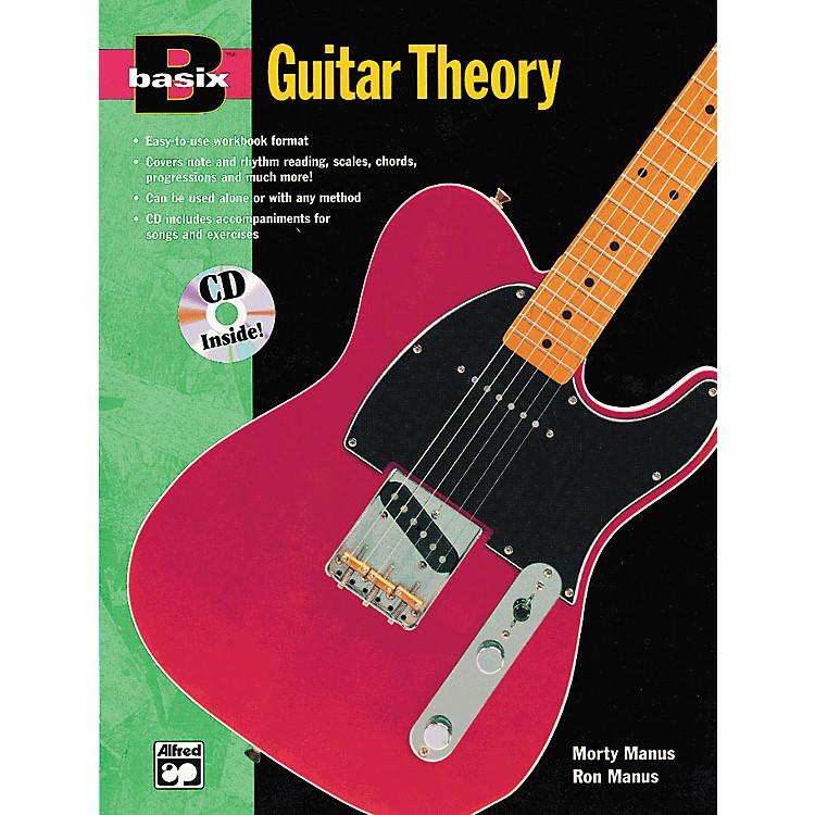 AlfredBasix Guitar Theory Book and CD