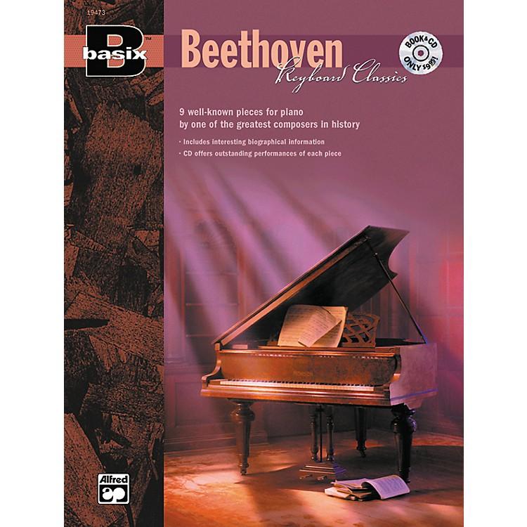 AlfredBasix Keyboard Classics: Beethoven (Book/CD)