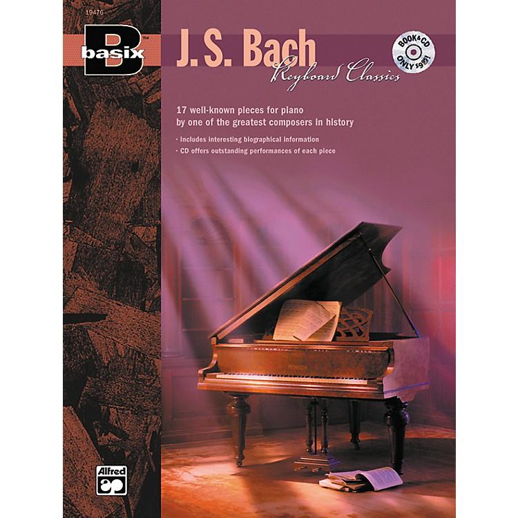 AlfredBasix Keyboard Classics: J.S. Bach