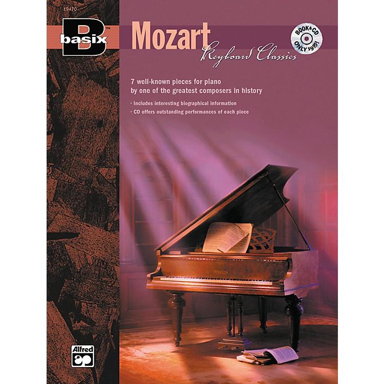 AlfredBasix Keyboard Classics: Mozart (Book/CD)