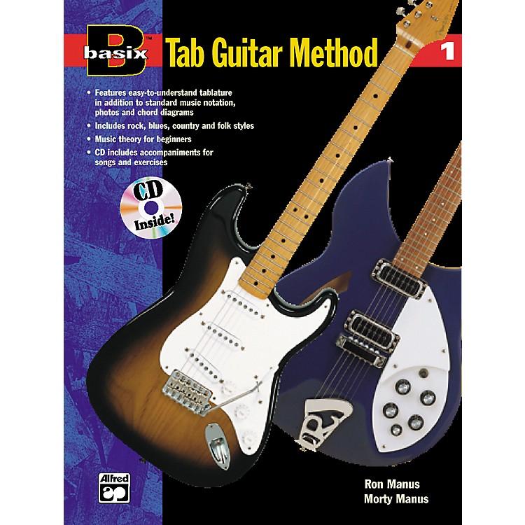 AlfredBasix TAB Guitar Method #1 CD