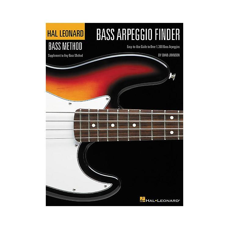Hal LeonardBass Arpeggio Finder by Chad Johnson Book