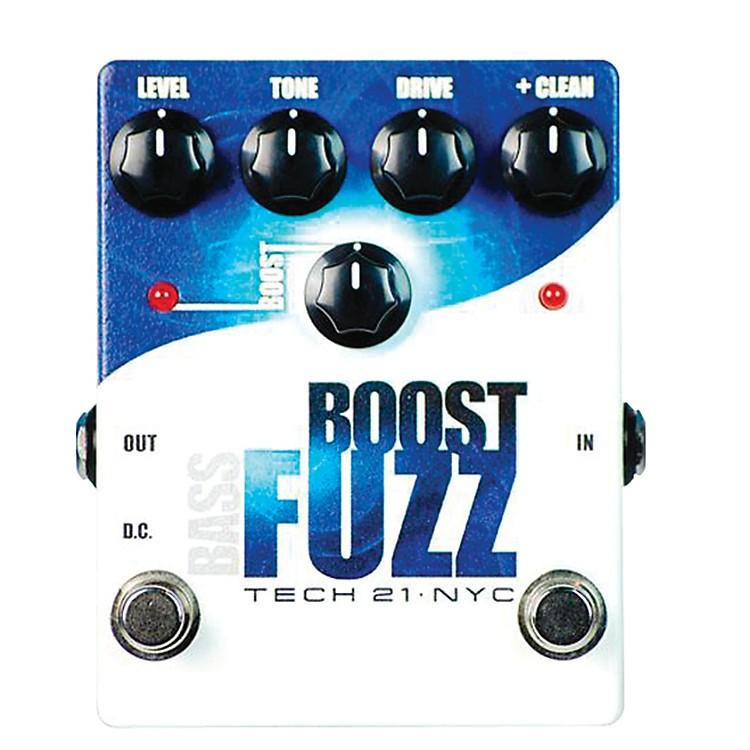 Tech 21Bass Boost Fuzz Analog Bass Fuzz Pedal