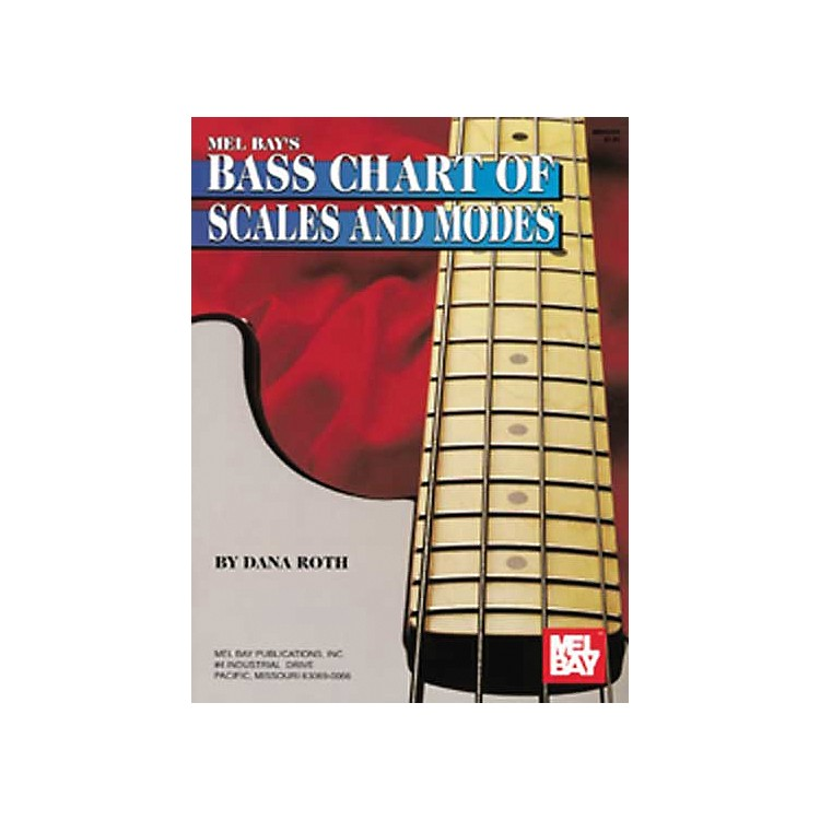 Mel BayBass Chart of Scales and Modes