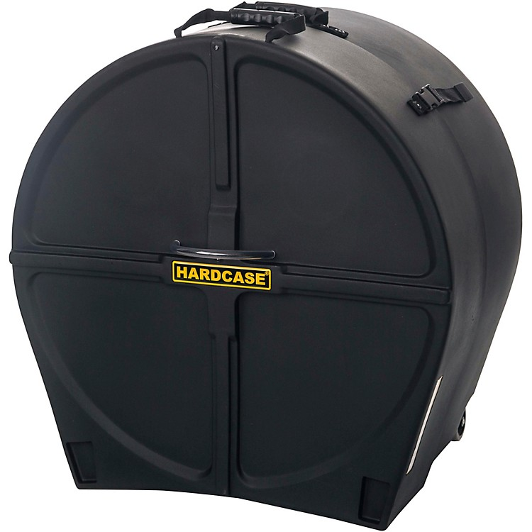 HARDCASE Bass Drum Case with Wheels 26 in.